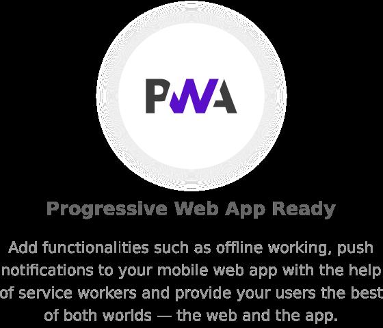 pwa - Nectar - Mobile Web App Kit