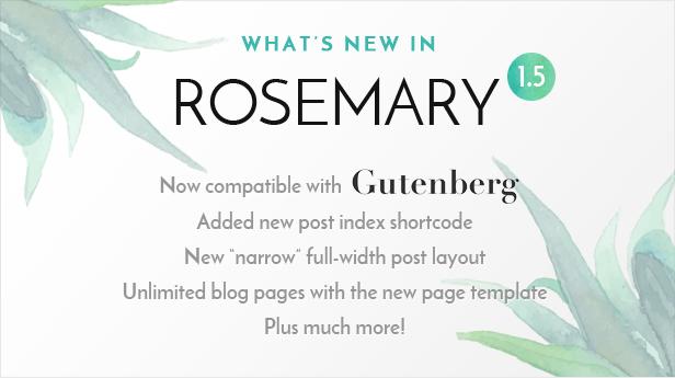 rosemary1.5 - Rosemary - A Responsive WordPress Blog Theme