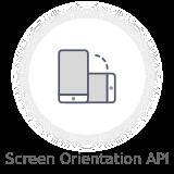screen orientation api - Nectar - Mobile Web App Kit