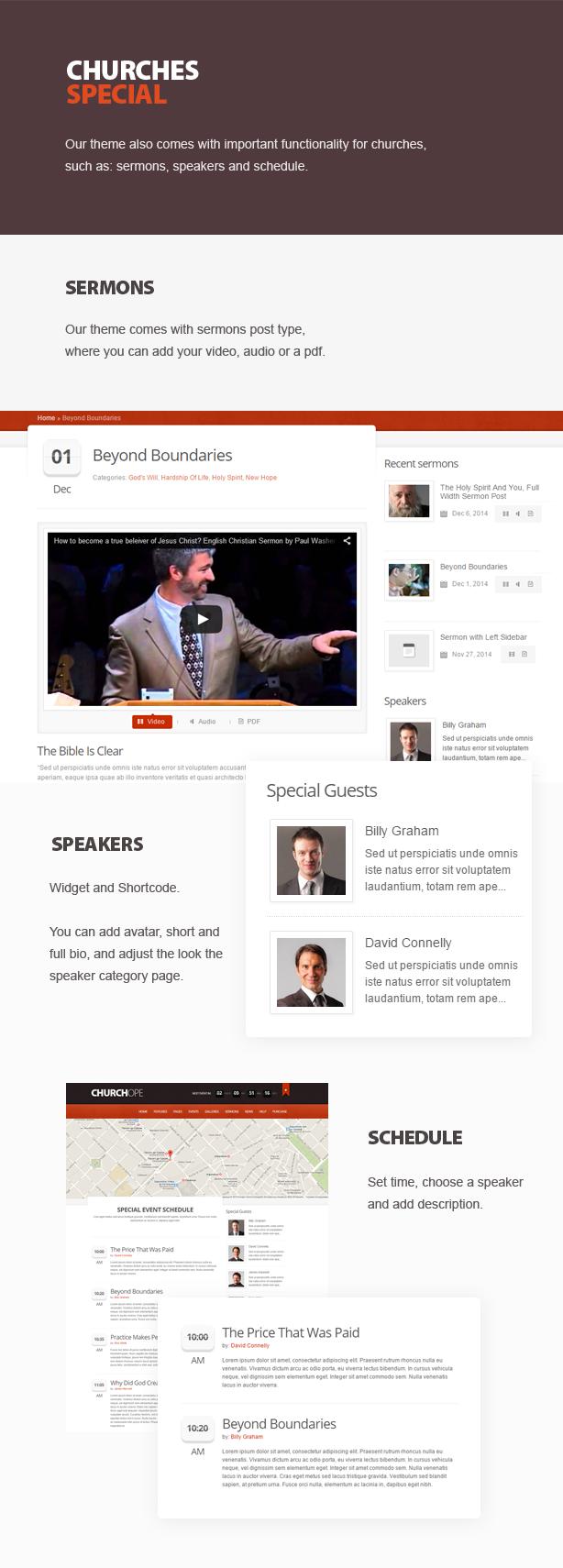 sermons - ChurcHope - Responsive WordPress Theme