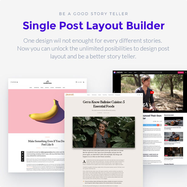 singlebuilder - JNews - WordPress Newspaper Magazine Blog AMP Theme