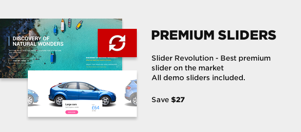 slider revolution - Book Your Travel - Online Booking WordPress Theme