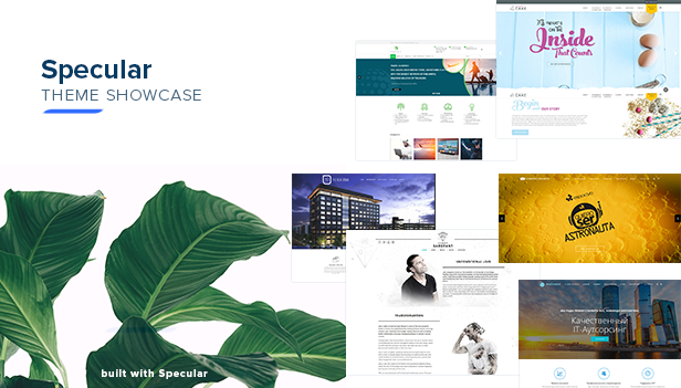 specular showcase - Specular - Business WordPress Multi-Purpose