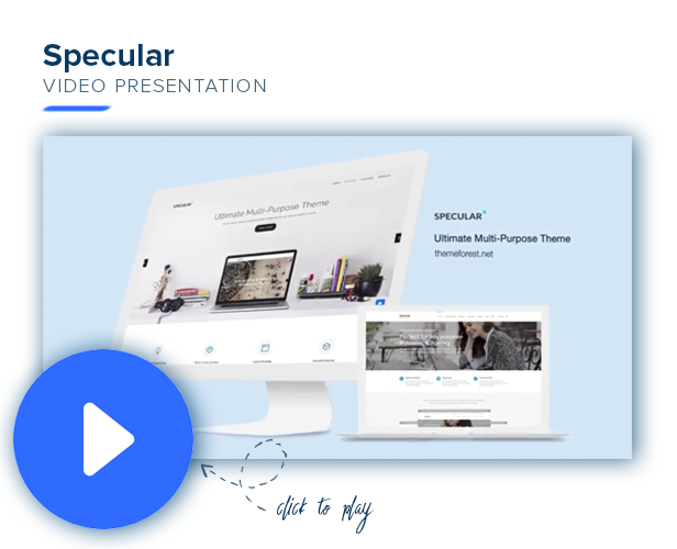 specular video pres - Specular - Business WordPress Multi-Purpose