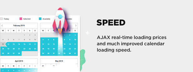 speed optimized - Book Your Travel - Online Booking WordPress Theme