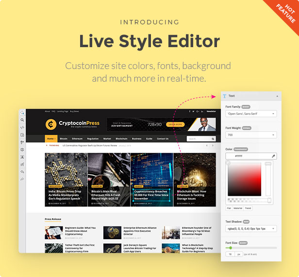 styleeditor - JNews - WordPress Newspaper Magazine Blog AMP Theme