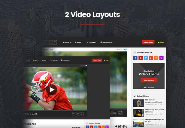 videopro feature 116  - VideoPro - Video WordPress Theme