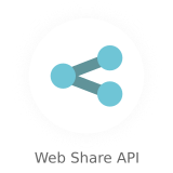 web share api - Nectar - Mobile Web App Kit