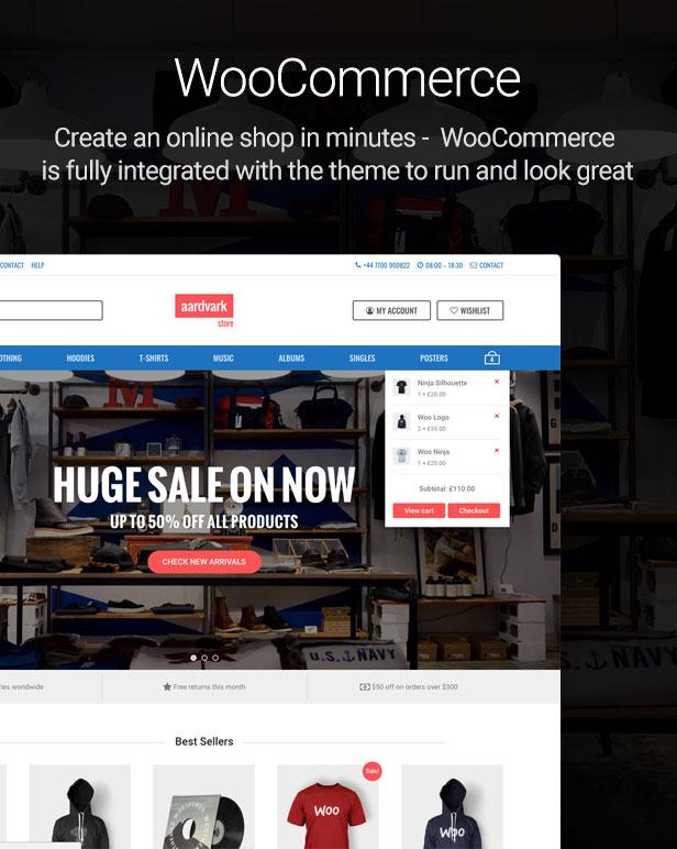 woocommerce - Aardvark - Community, Membership, BuddyPress Theme
