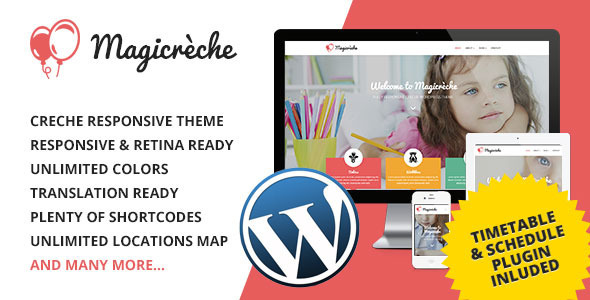 00 preview wp.  large preview - Magicreche - Responsive Crèche WordPress Theme