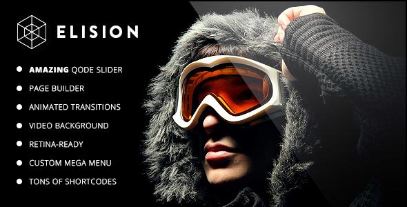 00 preview.  large preview - Elision - Retina Multi-Purpose WordPress Theme
