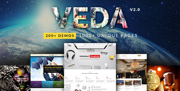 01 veda preview new no offer.  large preview - VEDA MultiPurpose WordPress