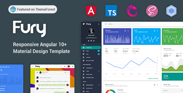 01 header.  large preview - Fury - Angular 10+ Material Design Admin Template