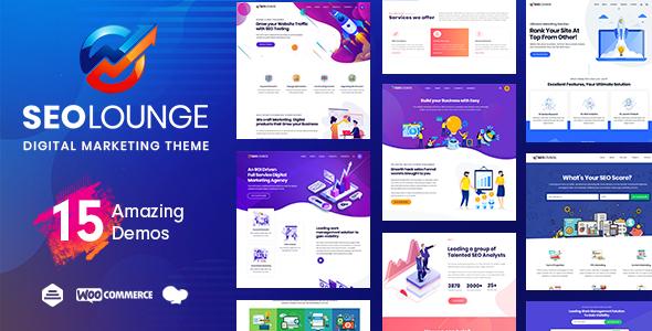 01 seolounge.  large preview - SEO Lounge - Digital Marketing Theme