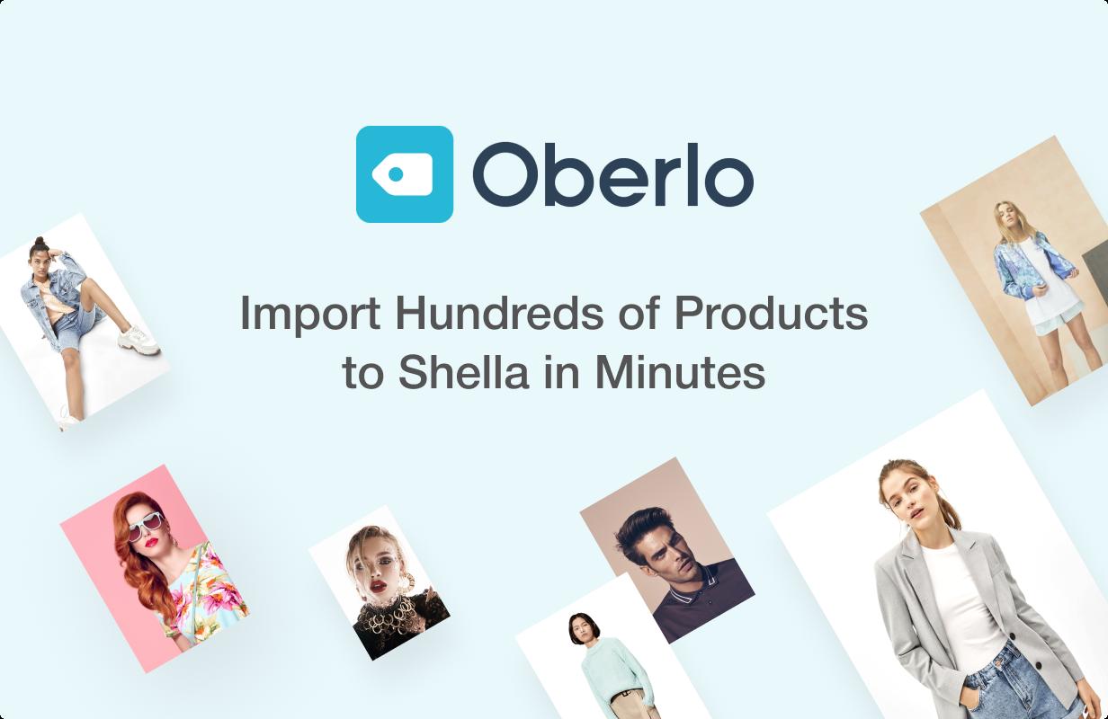 02 oberlo - Shella - Multipurpose Shopify theme, fastest with the banner builder