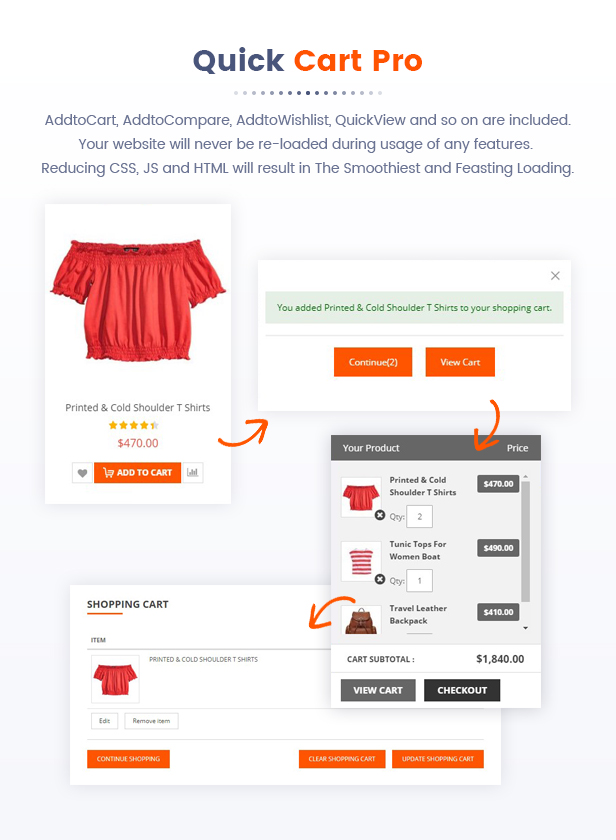 07 Quick Cart Pro - Market - Premium Responsive Magento 2 and 1.9 Store Theme with Mobile-Specific Layout (23 HomePages)