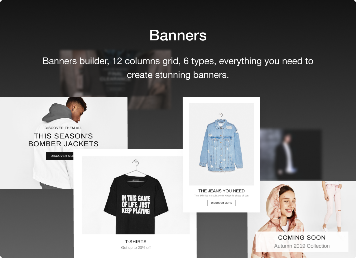 08 banners - Shella - Multipurpose Shopify theme, fastest with the banner builder