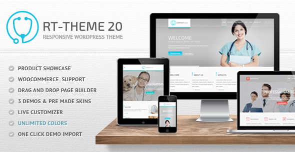 1.  large preview - RT-Theme 20   Medical, Health and Medical Product Catalog