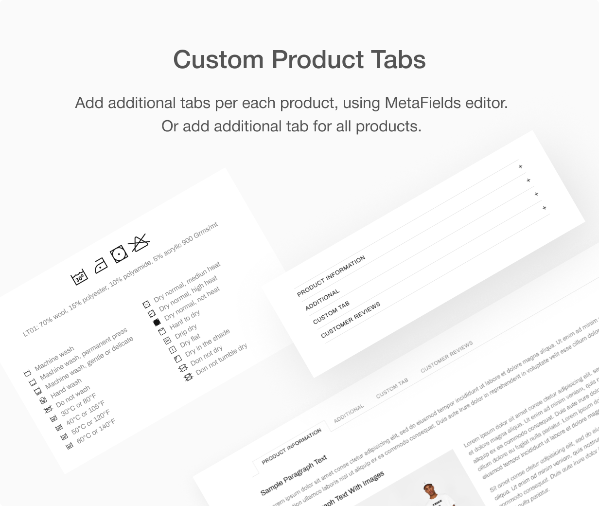 13 custom tabs - Shella - Multipurpose Shopify theme, fastest with the banner builder