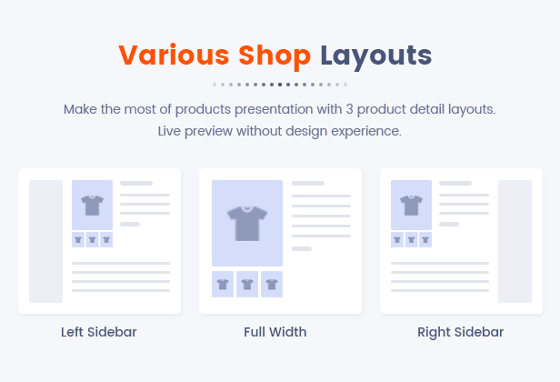 14 Various Shop Layouts1 - Market - Premium Responsive Magento 2 and 1.9 Store Theme with Mobile-Specific Layout (23 HomePages)