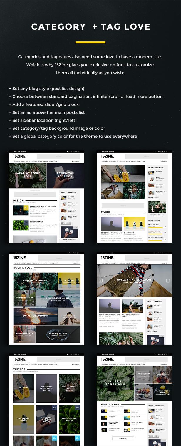 15zine v3 pre 10 2 - 15Zine - HD Magazine / Newspaper WordPress Theme