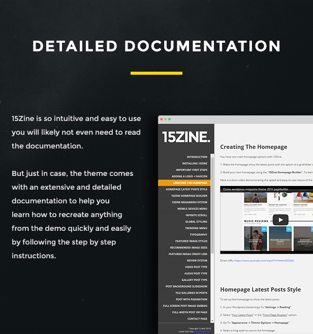 15zine v3 pre 10 - 15Zine - HD Magazine / Newspaper WordPress Theme