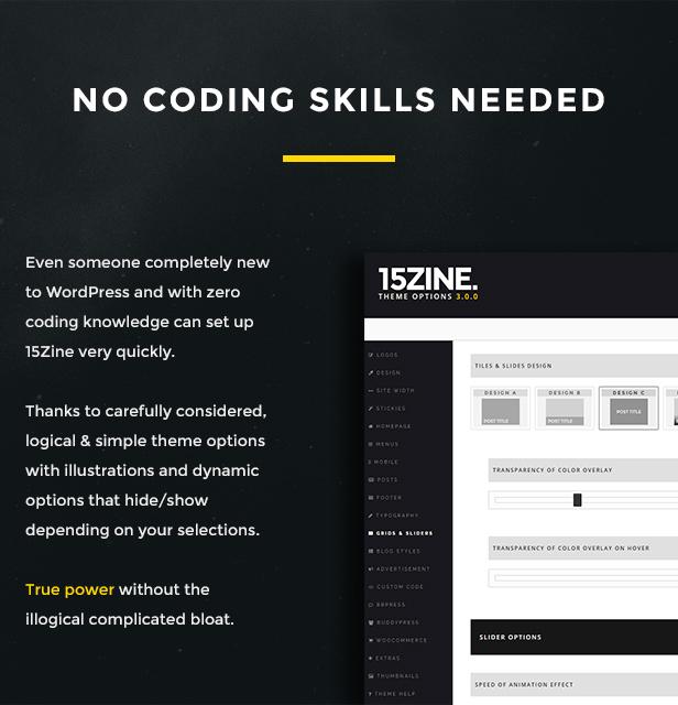 15zine v3 pre 6 - 15Zine - HD Magazine / Newspaper WordPress Theme