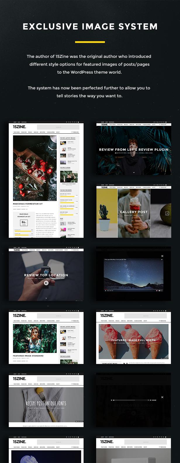 15zine v3 pre 7b - 15Zine - HD Magazine / Newspaper WordPress Theme