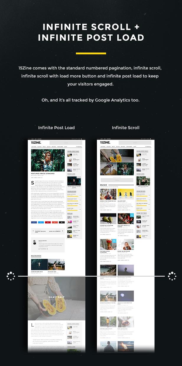 15zine v3 pre 8 - 15Zine - HD Magazine / Newspaper WordPress Theme