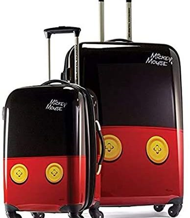 1604426030 41YSgOkuaML. AC  388x445 - American Tourister Disney Hardside Luggage with Spinner Wheels, Mickey Mouse Pants, 2-Piece Set (21/28)
