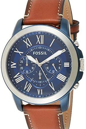 1605365424 41t7osUvcKL. AC  298x445 - Fossil Men's Grant Stainless Steel Chronograph Quartz Watch