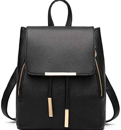 1605455052 41ZQRizyUkL. AC  412x445 - B&E LIFE Fashion Shoulder Bag Rucksack PU Leather Women Girls Ladies Backpack Travel bag