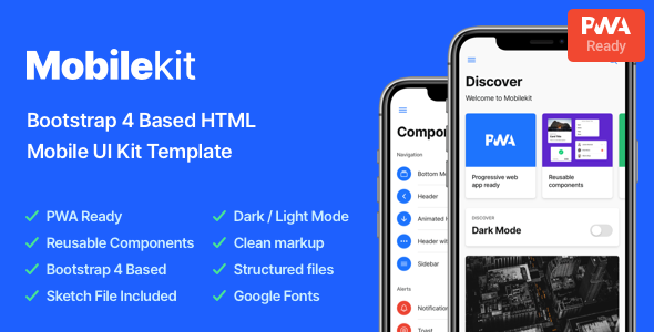 1605491200 948 01 preview.  large preview - Mobilekit - Bootstrap 4 Based HTML Template