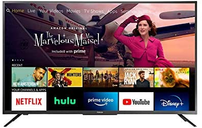 1605586471 41Qsd3jJYnL. AC  - All-New Toshiba 50LF621U21 50-inch Smart 4K UHD with Dolby Vision - Fire TV Edition, Released 2020