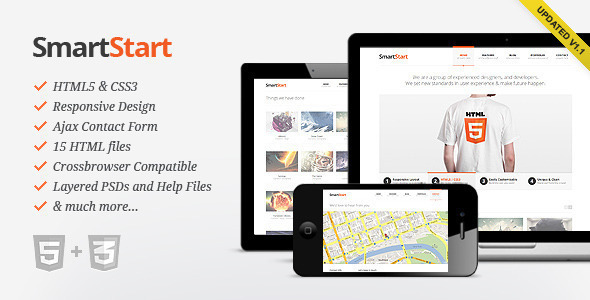1606025985 168 01 Preview.  large preview - SmartStart - Responsive HTML5 Template