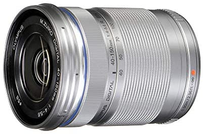 1606254834 4110l LygWL. AC  - Olympus M.Zuiko Digital ED 40-150mm F4.0-5.6 R Zoom Lens, for Micro Four Thirds Cameras (Silver)