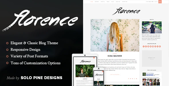1606421640 709 01 Preview.  large preview - Florence - A Responsive WordPress Blog Theme
