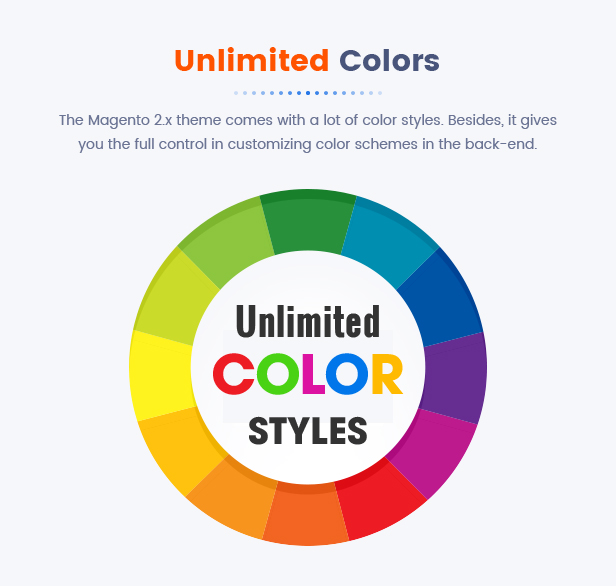 18 Unlimited Colors2 - Market - Premium Responsive Magento 2 and 1.9 Store Theme with Mobile-Specific Layout (23 HomePages)