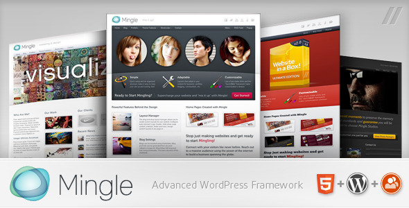 1 Banner Mingle WP.  large preview - Mingle - Multi-purpose WordPress Theme