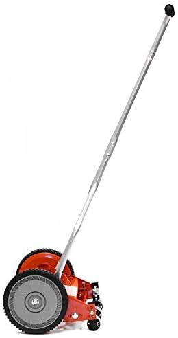31eWkwTGgmL. AC  - American Lawn Mower Company 1204-14 14-Inch 4-Blade Push Reel Lawn Mower, Red