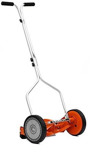 31f0r+Tws+L. AC  - American Lawn Mower Company 1204-14 14-Inch 4-Blade Push Reel Lawn Mower, Red