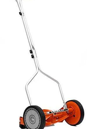31f0rTwsL. AC  300x445 - American Lawn Mower Company 1204-14 14-Inch 4-Blade Push Reel Lawn Mower, Red