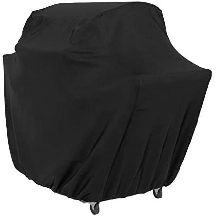31rDARjDDL. AC  - AmazonBasics Gas Grill Barbecue Cover, 72 inch / XL, Black