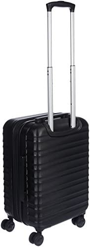 31sa8lmfOjL. AC  - AmazonBasics Hardside Carry-On Spinner Suitcase Luggage - Expandable with Wheels - 21 Inch, Black