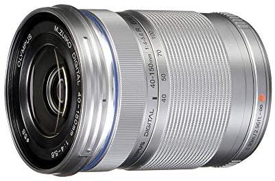 4110l LygWL. AC  - Olympus M.Zuiko Digital ED 40-150mm F4.0-5.6 R Zoom Lens, for Micro Four Thirds Cameras (Silver)
