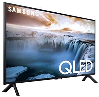 "4125zfVTuCL. AC  - SAMSUNG QN32Q50RAFXZA Flat 32"" QLED 4K 32Q50 Series Smart TV"
