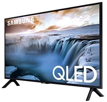 """41AXjIZie L. AC  - SAMSUNG QN32Q50RAFXZA Flat 32"""" QLED 4K 32Q50 Series Smart TV"""