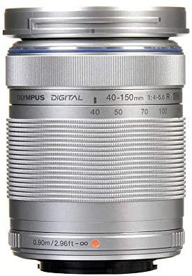 41HelCA3wnL. AC  - Olympus M.Zuiko Digital ED 40-150mm F4.0-5.6 R Zoom Lens, for Micro Four Thirds Cameras (Silver)