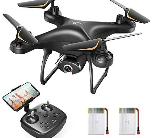 41KCctosVL. AC  492x445 - SNAPTAIN SP650 1080P Drone with Camera for Adults 1080P HD Live Video Camera Drone for Beginners w/Voice Control, Gesture Control, Circle Fly, High-Speed Rotation, Altitude Hold, Headless Mode