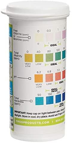 41NVvq bkbL. AC  - Frog Pool & Hot Tub Test Strips - 100 Count (pack of 2 - 50 strips)